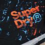 [PS]全新正品 Superdry 極度乾燥 沙灘褲 泳褲 Echo Racer  黑色潑墨