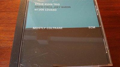 STEVE KUHN TRIO MOSTLY CONLTRANE 經典ecm cd爵士古典發燒錄音盤寂靜以外最美的聲音罕見絕版品版ECM2099