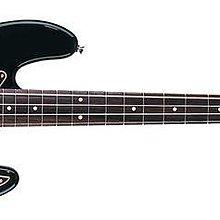 GFMI 吉風樂器 Fender Classic 60s Jazz Bass 黑色 鐵木指板 電貝斯
