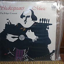 【大目標LP精品】Shakespares Music The Folger Consort