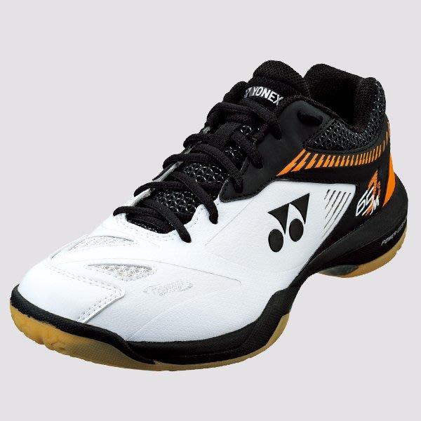 [健康羽球館] YONEX(YY) 頂級羽球鞋 SHB 65 Z2 MEN 白/橘 (SHB 65 Z2 M)