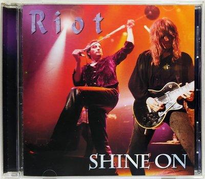 Riot - Shine On 二手日版