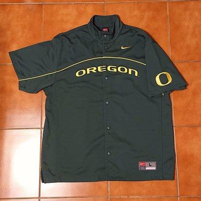 (已售出) Nike Oregon Ducks 大學復古熱身球衣 Rewind HWC