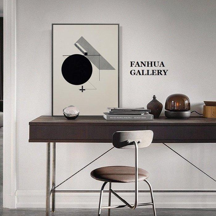 C - R - A - Z - Y - T - O - W - N 俄國藝術家掛畫建築抽象幾何裝飾畫立體主義藝術畫抽象三聯畫軟裝美學商業空間設計壁畫牆畫有框畫