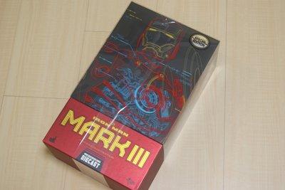 全新野獸國公司貨Hot Toys MMS256D07鋼鐵人Mark III收藏人偶合金特別限定版MK3附方舟反應爐馬克3