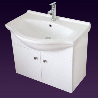 ==葳尼斯==70公分傳統大肚盆浴櫃組, 防水發泡板鋼琴烤漆 台北市