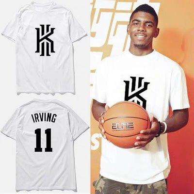🔥歐文Kyrie Irving厄文短袖棉T恤上衣🔥NBA籃網隊Nike耐克愛迪達運動籃球衣服T-shirt男女779