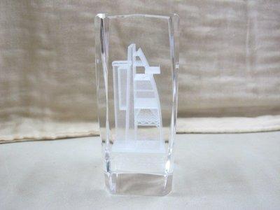 二手舖 NO.1426 3D內雕 中科 台中基地 西區高架水塔紀念