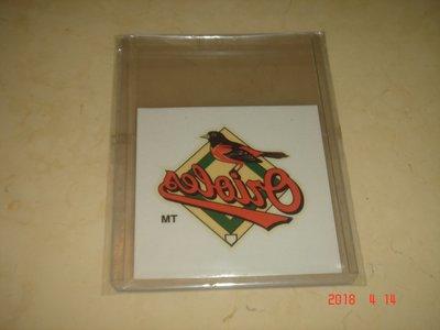 美國職棒  2000 Fleer Orioles  Temporary Tattoos