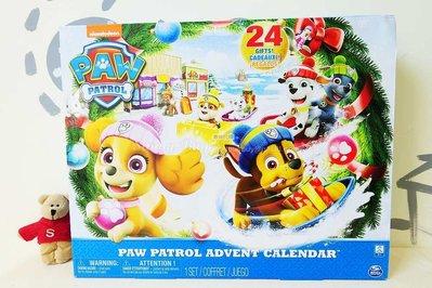 【Sunny Buy寶貝館】◎現貨◎ 美國 Paw Patrol 汪汪隊 聖誕降臨曆Advent Calendar 雪橇