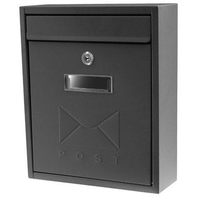 【TRENY直營】日式大野信箱-鐵灰 鑄鐵信箱 信箱 郵差箱 郵件箱 信件箱 意見箱 簡約  1599