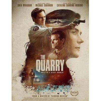 2020驚悚電影 亡命徒 The Quarry DVD 謝伊·惠格姆 高清盒裝 旺達百貨店