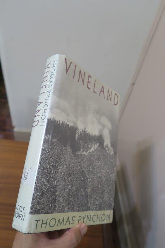 【英文舊書】[小說] Vineland, Thomas Pynchon 品瓊