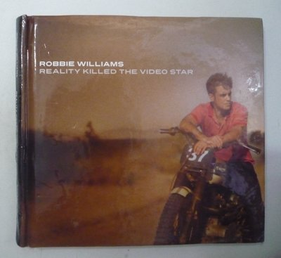 西洋 CD ROBBIE WILLIAMS 羅比威廉斯-REALITY KILLED THE VIDEO STAR--