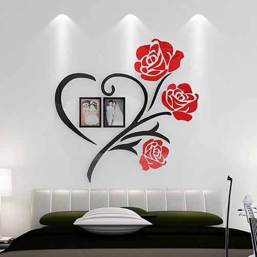 (全場免運)80飾家照片牆貼紙創意個性3d立體牆貼畫臥室溫馨床頭背景牆面裝飾WY 【不二先生】