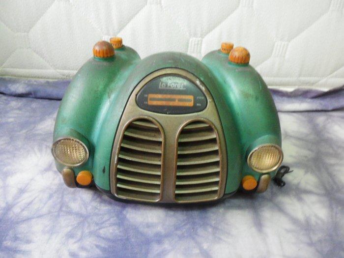 紫色小館-56--------古早樣式收音機