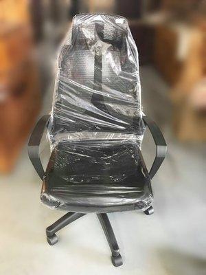 樂居二手傢俱(中) 便宜2手傢俱拍賣 EA-1225AJJ*全新黑色網OA椅*各式桌椅 中古辦公家具買賣 會議桌椅 辦公