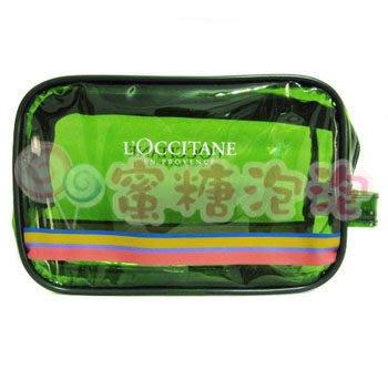 ◎蜜糖泡泡◎L OCCITANE歐舒丹 2011年草本旅行化妝包~防水材質~特價140