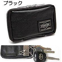momo日本製PORTER TOKYO JAPAN黑色black仿皮八達通卡鎖匙包key holder袋bag職員證鑰匙包Octopus card case