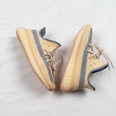 Adidas Yeezy Boost 350 V2 奶油亞麻黃 滿天星 休閒運動慢跑鞋 男女鞋 FY5158