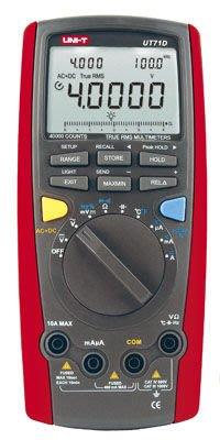 [捷克科技] UNI-T 優利德 UT 71D 工程級數位萬用電錶 40000 counts 雙顯示 專業電錶儀錶
