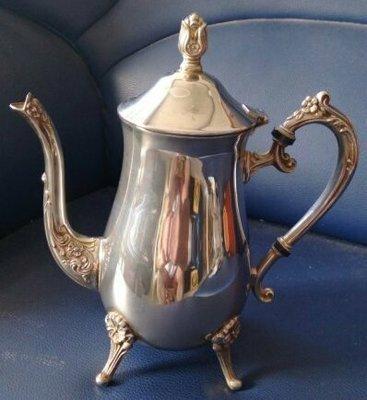 12高級英國完美鍍銀壺 silver plate teapot