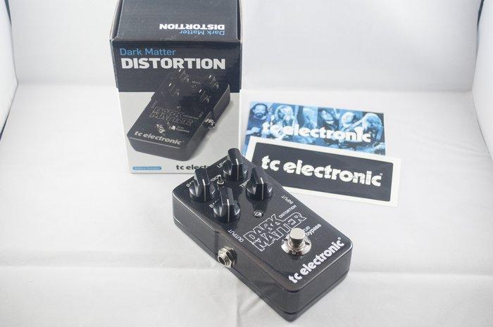 TC electronic Dark Matter Distortion 單顆吉他失真效果器,全新免運