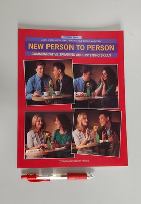 New Person to Person 2: Communicative Speaking & Listening【書況新 未使用】