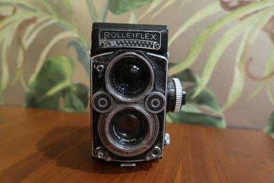 ☻解憂雜貨店☻ VINTAGE 德國製『ROLLEIFLEX』 相機 經典擺飾用 稀有珍藏