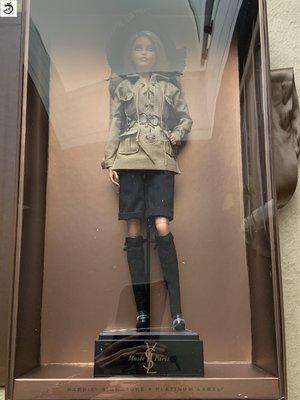 九州動漫芭比 BARBIE Model Muse PLATINUM label YSL 合作 珍蒧版 現貨