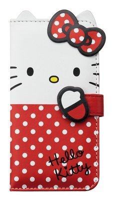 尼德斯Nydus~* 日本正版 Hello kitty  悠遊卡 磁扣式 翻頁皮套 手機殼 4.7吋 iPhone6