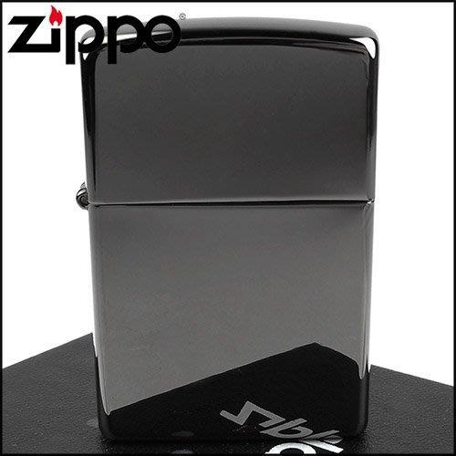 ☆哈洛德小舖☆全新【ZIPPO】美系~超質感Black ice~黑冰色鏡面打火機(寬版)NO.150