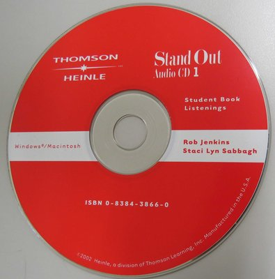 Stand Out 1  Audio CD