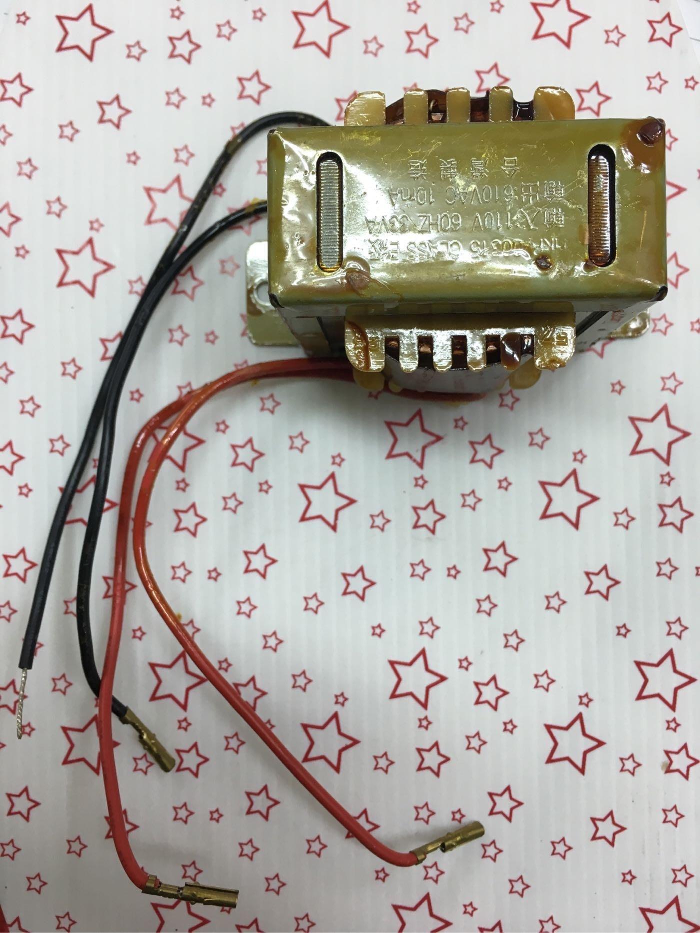 捕蚊燈的 (高壓變壓器+安定器)=2合1功能 110AC轉610AC T5/15W 變壓器