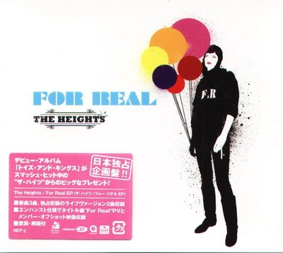 K - The Heights - For Real - 日版 CD+VIDEO - NEW