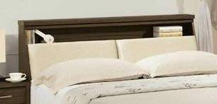 二手家具 台中 樂居全新中古傢俱買賣 OH2205BG*全新米特胡桃床頭櫃 衣櫥 收納櫃*零碼臥室家具 衣櫃 化妝桌鏡台