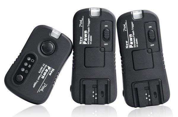 呈現攝影-品色 TF-363 無線快門+無線閃燈觸發器2.4G SONY 58/42AM 喚醒B快門離機閃一對二 NCC認證