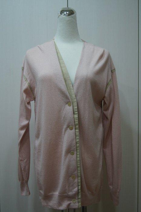 Chloe  粉紅色領接色針外套    原價 44500     特價  6600