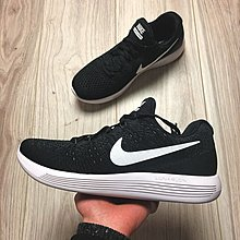 D-BOX Nike LunarEpic Low Flyknit 2 黑色 白勾 復古編織 運動鞋 跑步鞋 情侶款