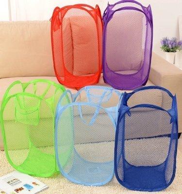 Color_me【Z01】簡易折疊收納籃 收納箱 髒衣籃 玩具籃 置物箱 置物籃 收納籃