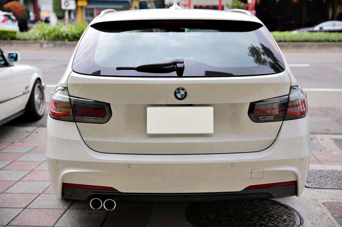 【樂駒】BMW F31 Touring 升級 原廠 LCI LED BlackLine 燻黑 尾燈組 改裝 套件