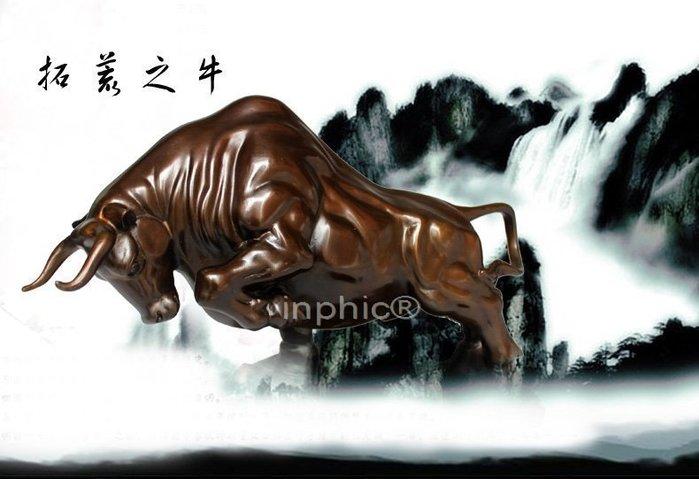 INPHIC-開運 大型開光精品純銅牛擺件仿古家居裝飾工藝品創業神牛禮品擺設