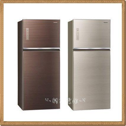 *~新家電錧~*【Panasonic國際牌 NR-B489TG 】雙門485L變頻電冰箱【實體店面】