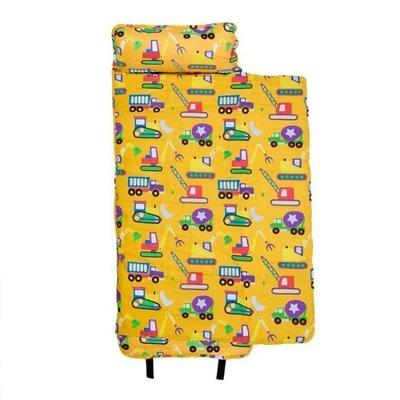 [美國 Wildkin]無毒幼教睡袋 符合美國標準 28110 怪手卡車 Nap Mat 午睡墊(3-7歲)