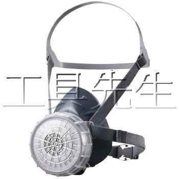 含稅價/GM76DS/附濾毒罐一個/矽膠材質 【工具先生】日本~重松~防毒 防塵 面具 口罩 兩用款 適用:噴漆.消毒