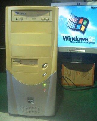 【窮人電腦】跑早期系統工業機!自組ISA插槽Windows95電腦出清!桃園中壢以北免費外送!