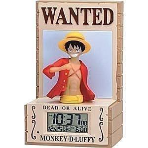 41+ 現貨不必等 正版授權  日本平輸 海賊王 造型 3D音效鬧鐘  my4165