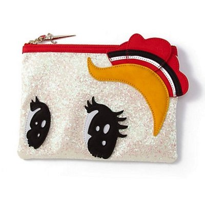 日本限定【ANNA SUI×7MANGA】緞帶騎士 ボンの騎士 眼睛化妝包 限量大眼包