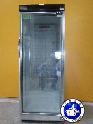 【台灣星田~餐飲設備館】單門玻璃展示冷藏櫃320L~另有製冰機、爆米花機和霜淇淋機而且都有出租賃