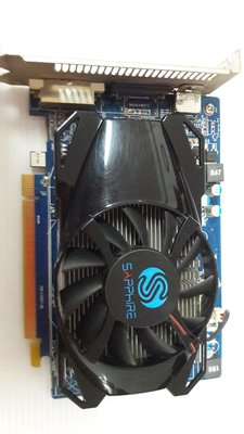 (台中) SAPPHIRE顯示卡 HD6670 1G DDR5 中古良品